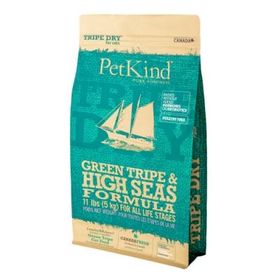 PetKind 野胃 天然鮮草肚貓糧 鮭鲱羊 11磅