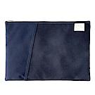 Livework 休閒風雙層對摺文件袋V2-海軍藍
