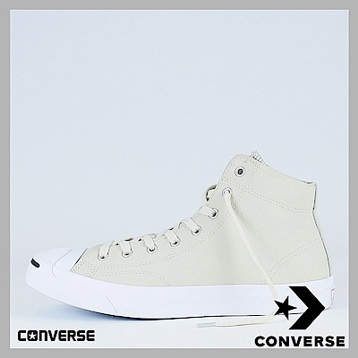 CONVERSE-Jack Purcell 男女休閒鞋-白