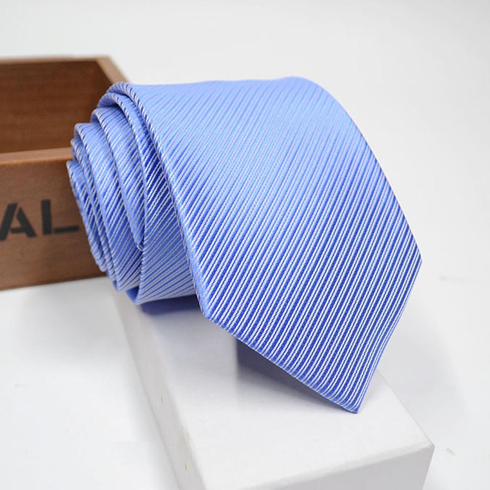 拉福   領帶窄版領帶8cm防水領帶拉鍊領帶(天藍)