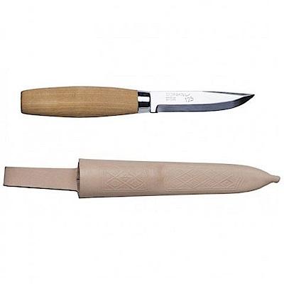 MORAKNIV Classic 125 層壓鋼經典木工刀 原木色