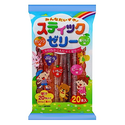 RIBON水果味果凍條(300g)