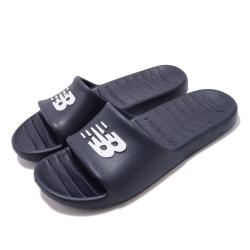 New Balance 涼拖鞋 基本款 輕量 透氣 休閒 男女鞋 藍 SUF100TND