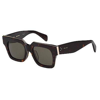 CELINE 方框 太陽眼鏡(琥珀色)CL41101FS