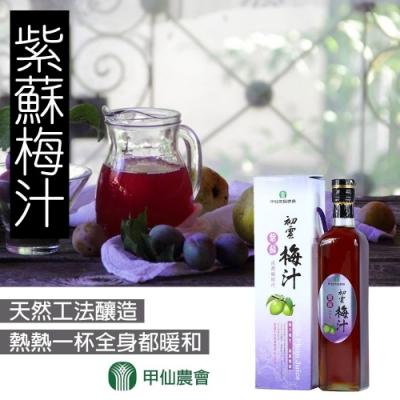 甲仙農會 紫蘇梅汁(500cc)