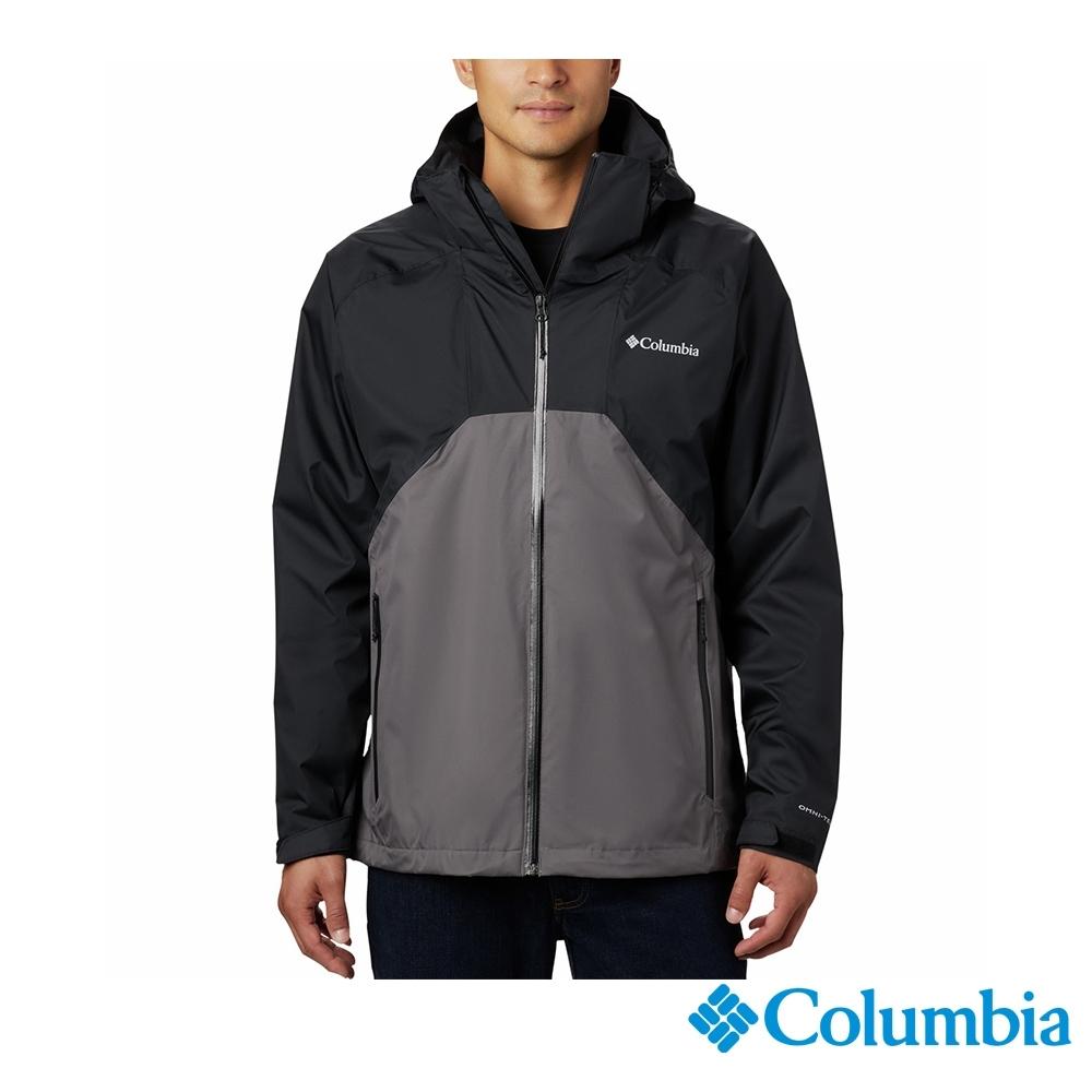 Columbia 哥倫比亞 男款- Omni-Tech 防水外套-黑色 UEE00800BK