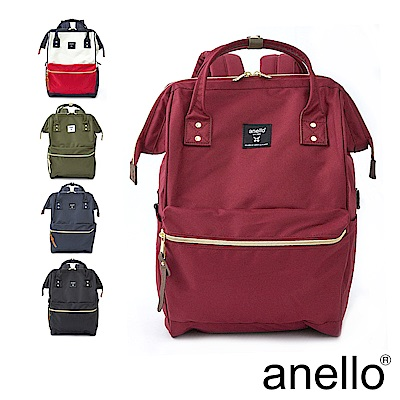 anello 新版基本款2代R系列 防潑水強化 經典口金後背包 Regular