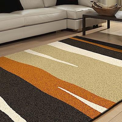 【范登伯格】艾斯-曲線流動活潑造型進口地毯-80x150cm