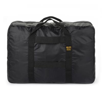 【 Travel Blue 藍旅 】 Foldable X-Large 旅行大容量摺疊手提袋 (48L) 黑色 TB067-BK