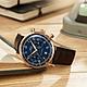 MIDO美度 Multifort Patrimony 先鋒系列復古計時機械錶-藍x咖啡/42mm M0404273604200 product thumbnail 2