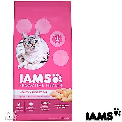 IAMS 愛慕思 健康優活 雞肉 腸胃保健 成貓糧 7磅