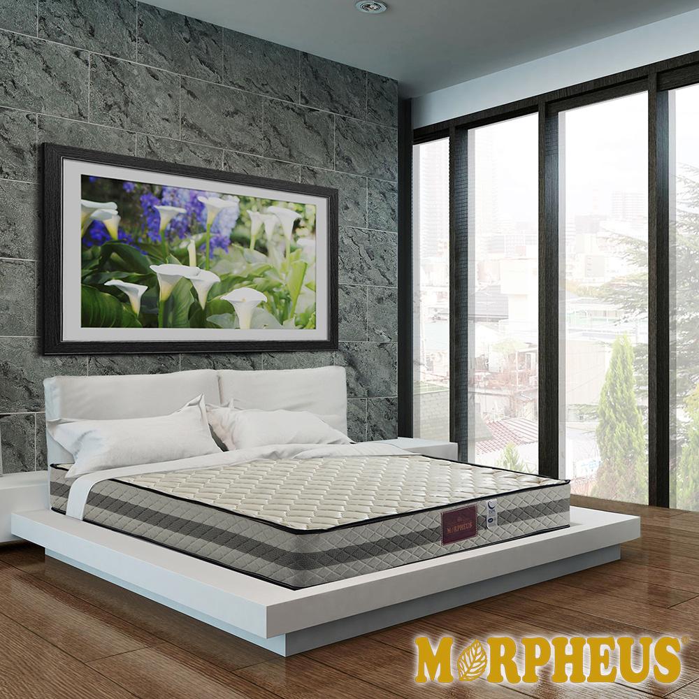 夢菲思 二線防蹣抗菌蜂巢式獨立筒床墊-雙人加大6尺