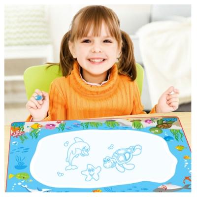 Joy toy 彩色重覆塗鴉神奇水畫布(畫毯)18m+