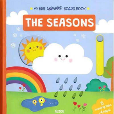 My First Animated Board Book:The Seasons
