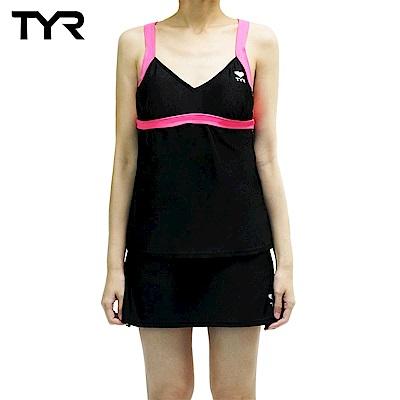 美國TYR 女用修身兩件式泳裝 Seymour V-neck Tank Set