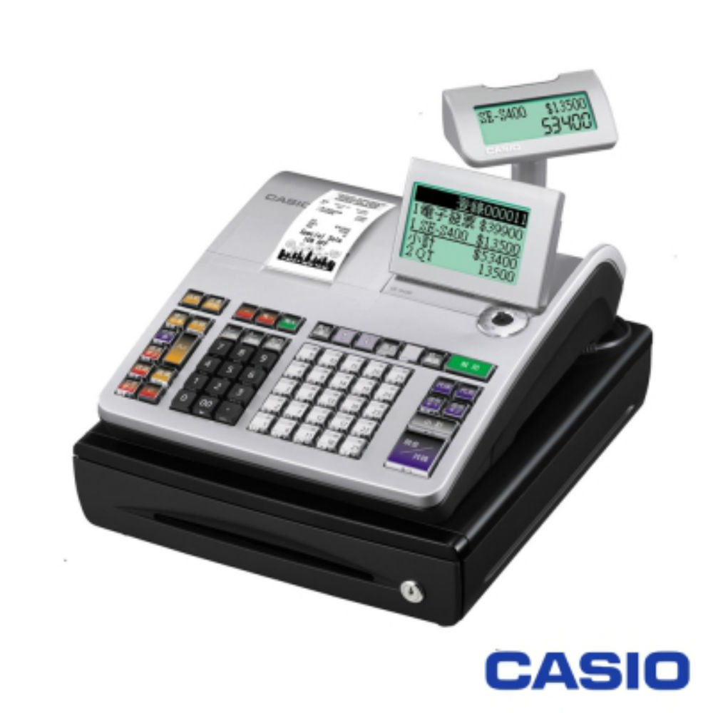 CASIO 卡西歐 SE-S400多功能收銀機(全中文/感熱列印)