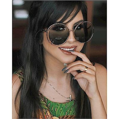 CHLOE 名人愛用款 太陽眼鏡 (金配綠)CE153S-838