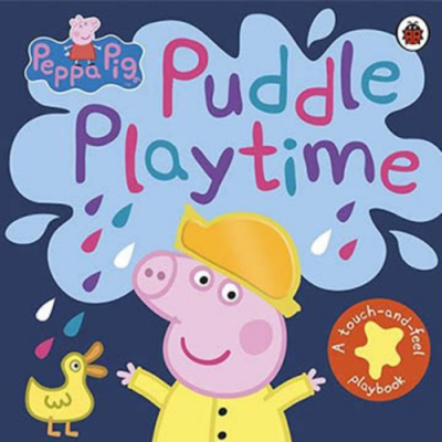 Peppa Pig:Puddle Playtime 佩佩豬玩泥巴觸摸書