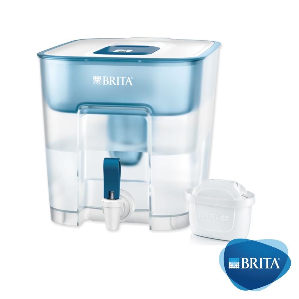 [限時下殺74折]BRITA Flow 8.2L大容量濾水箱(含MAXTRA+全效濾芯1入)