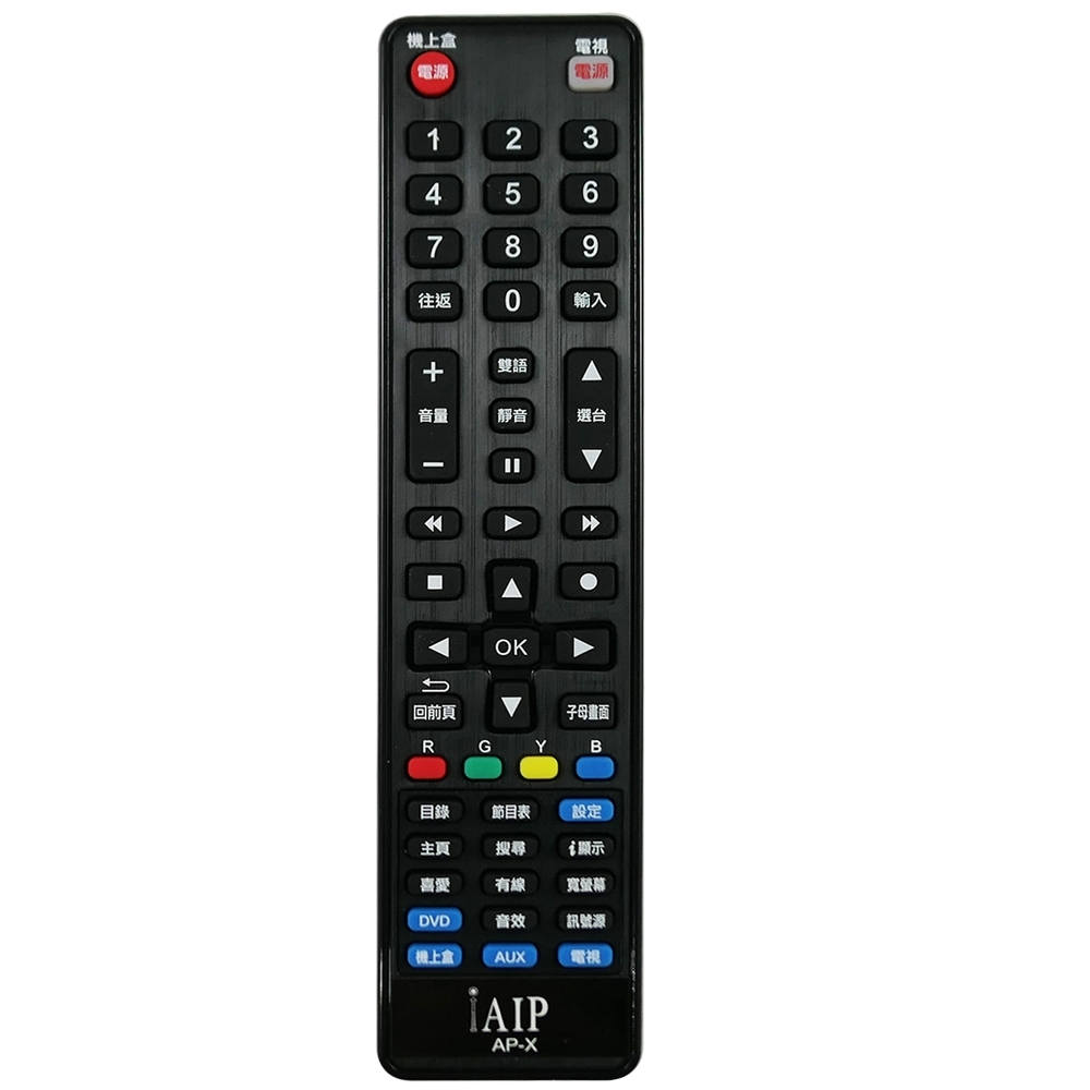 iAIP 數位機上盒電視萬用遙控器 AP-X