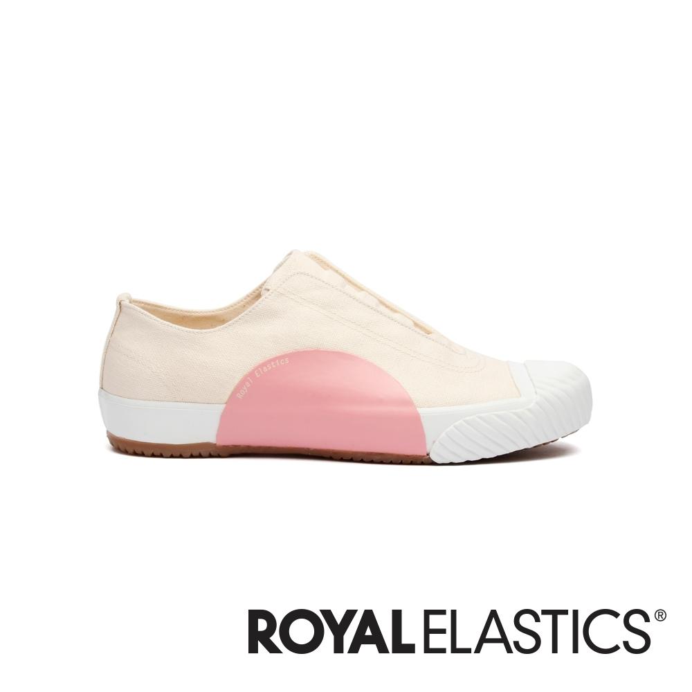 ROYAL ELASTICS New York藕粉紐約風帆布休閒鞋 (女) 93982-010