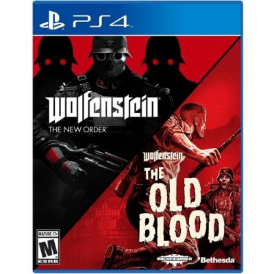 德軍總部 合輯 新秩序+舊血脈 Wolfenstein The Two Pack - PS4 英文美版