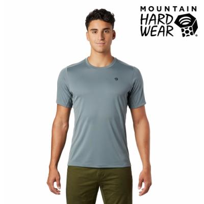 【美國 Mountain Hardwear】Wicked Tech Short Sleeve T-Shirt 防曬快乾短袖排汗衣 男款 淺風暴灰 #1891121