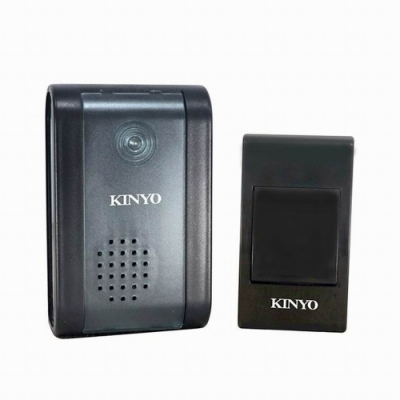 KINYO 交流式遠距離無線門鈴 DBA-389