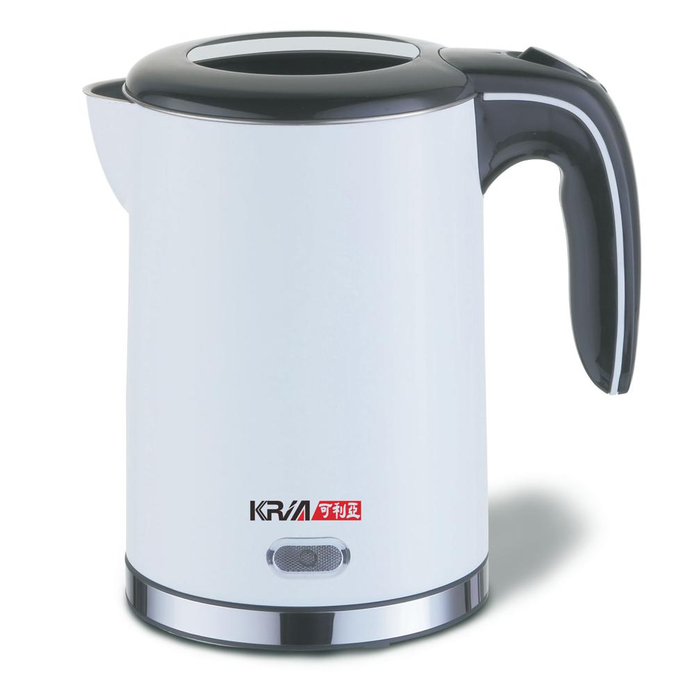 KRIA可利亞 1.2公升雙層防燙304#不鏽鋼電水壼KR-1723