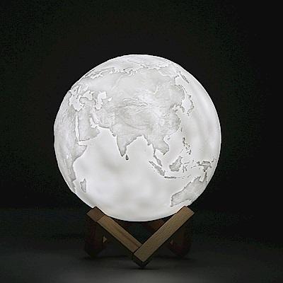 3D地球燈 LED小夜燈/氛圍燈(15cm)