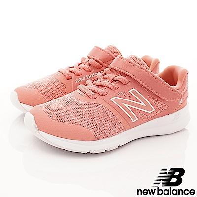 NewBalance 針織慢跑款 PREMMY粉橘(中小童段)