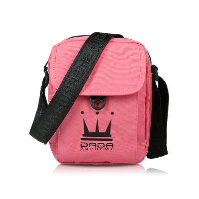 【DADA】DADA SIDE PACK側背小包 -桃粉