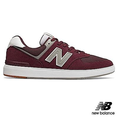 New Balance 復古鞋_AM574MRR_中性_酒紅