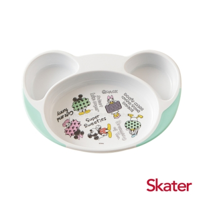 【任】Skater離乳多隔餐盤-米奇