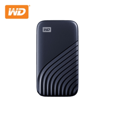 WD My Passport SSD 2TB(午夜藍) 外接SSD