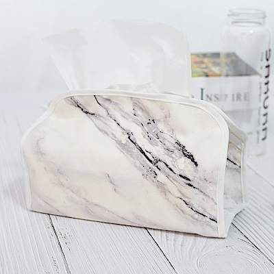 Incare 精緻簡約百搭收納質感面紙布套(2入/3款可選)
