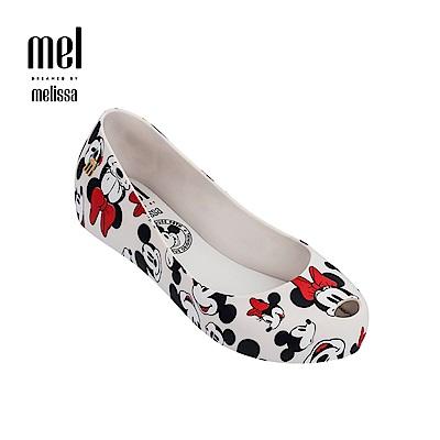 Melissa X Mickey 款娃娃鞋兒童款-白色