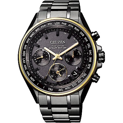 CITIZEN 星辰100週年珍藏系列GPS衛星對時腕錶CC4004-58F