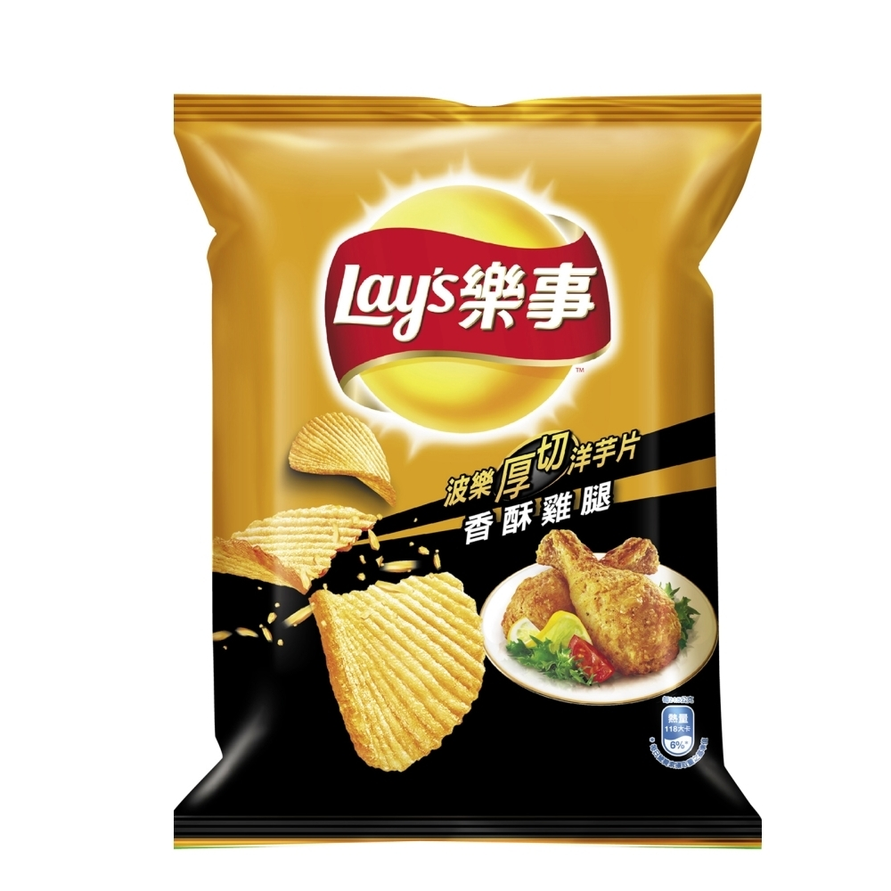 樂事 波樂香酥雞腿洋芋片(43g)