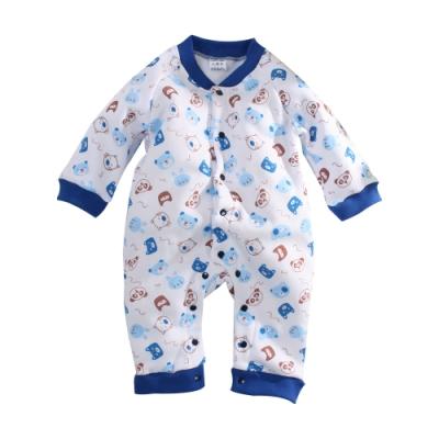 灣製刷毛加厚嬰兒連身衣 k61042 魔法Baby