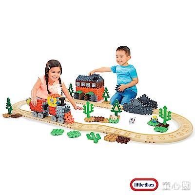 美國 LittleTikes 鬆餅積木-蒸汽火車(2Y+)