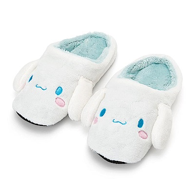 Sanrio 大耳狗喜拿大臉造型女用絨毛室內拖鞋