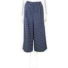 Michael Kors 波卡圓點深藍色八分寬褲