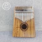 PUKA 卡林巴琴/拇指琴/17音/太陽花小海豚雕刻款/公司貨