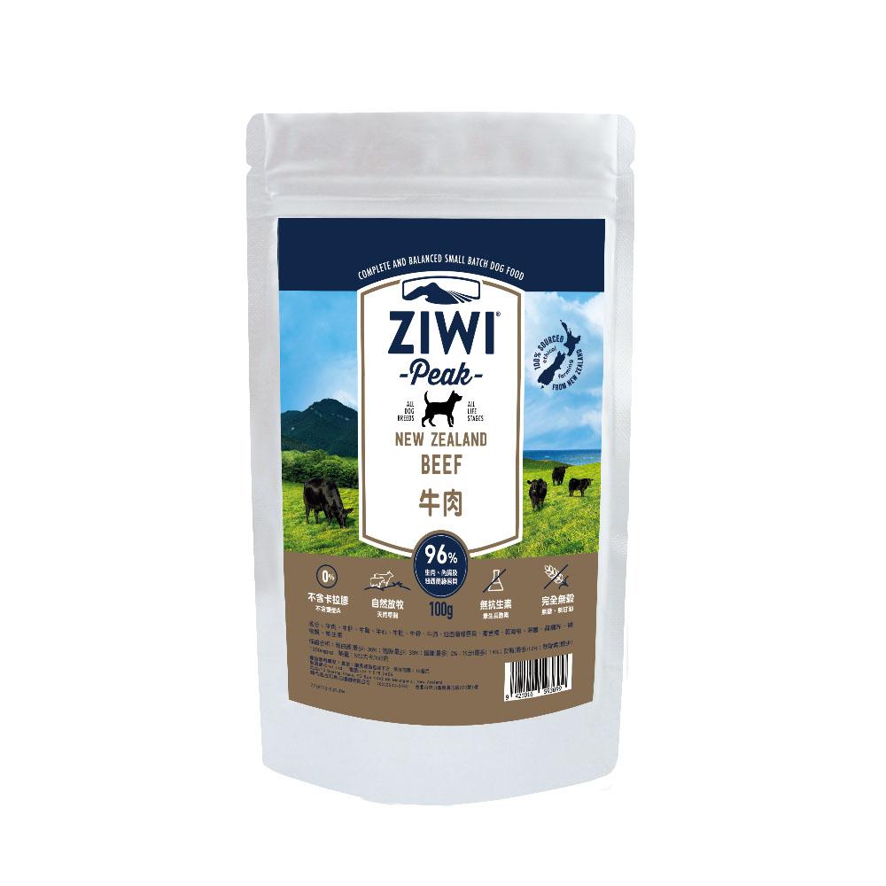 ZiwiPeak 巔峰 96%鮮肉狗糧 牛肉 100G