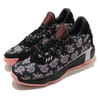 adidas 籃球鞋 Dame 7 GCA 運動 男鞋 愛迪達 玫瑰 Damian Lillard 黑 粉 FZ1092