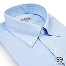 GIBBON 優雅緹花質感長袖襯衫‧藍色