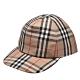 BURBERRY 經典Vintage格紋品牌標誌棒球帽(古典黃) product thumbnail 1