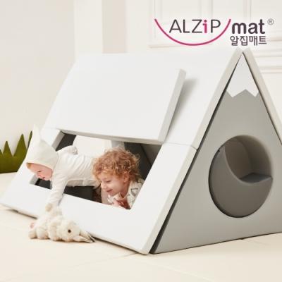 【ALZiPmat】韓國 HOUSE TENT SET 小屋帳篷 遊戲墊 - 北歐小山