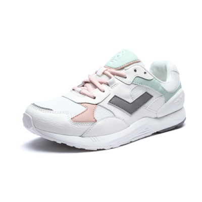 【PONY】BOUNCE系列-復古運動鞋 老爹鞋 潮流 球鞋 女款 白色